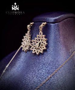 Lavish jewelry set elegant cliomor