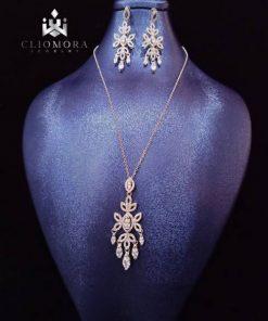 Jewelry set eye catching  cliomora