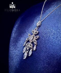 Jewelry set impressive cliomora cz