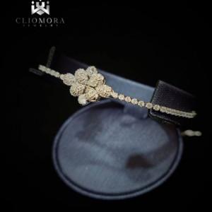 Rare Bracelet Offbeat Cliomora CZ Cubic Zirconia ZKB37