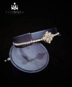 Rare bracelet offbeat cliomora cz