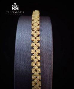 Gleaming bracelet shiny cliomora c