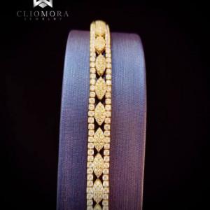 Extraordinary Bracelet Bright Cliomora CZ Cubic Zirconia ZKB20