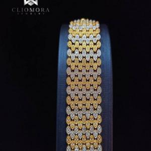 Classic  Bracelet Brilliant Cliomora CZ Cubic Zirconia ZKB14