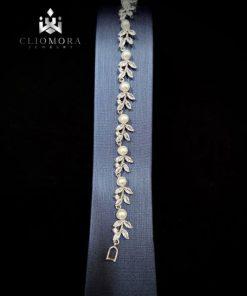 Shining bracelet grand cliomora cz