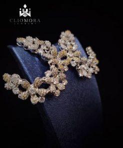 Fashionable earnings gleaming clio