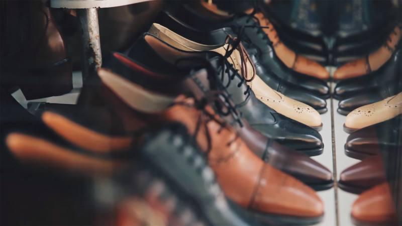 footwear, leather, oxfords