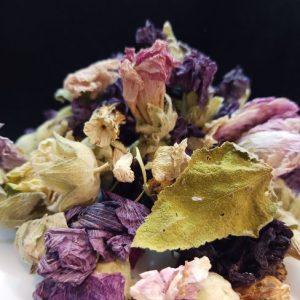 Rose marshmallow gul hatmi herbal tea 4