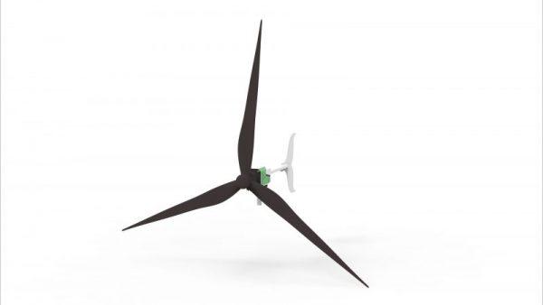 Wind turbine 1200w turkish made ne