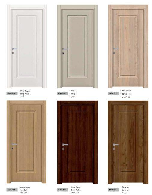 Pvc doors interiors stylish turkis