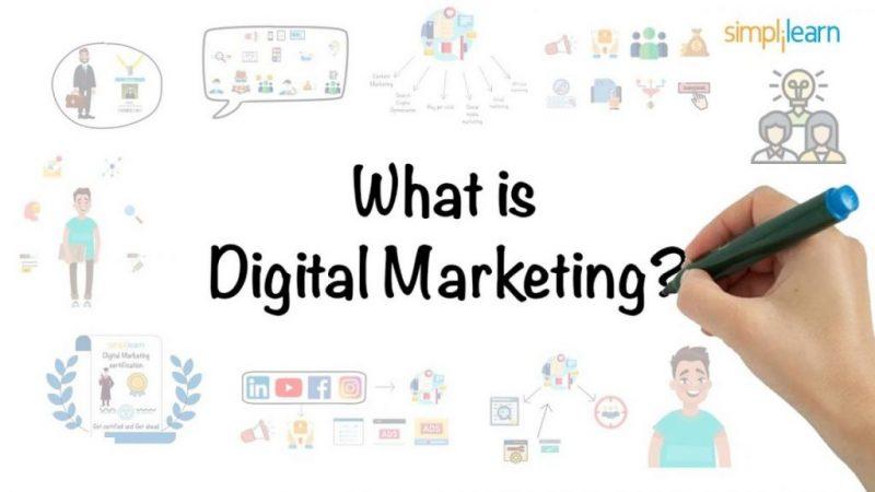 Digital marketing in 5 minutes   what is digital marketing?   learn digital marketing   simplilearn