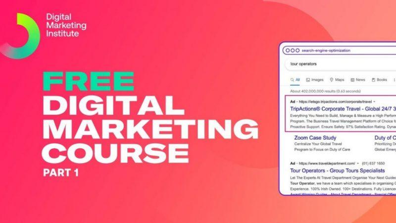 Free digital marketing course part 1   digital marketing tutorials   digital marketing institute