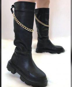 Calf Height Style Women Boots