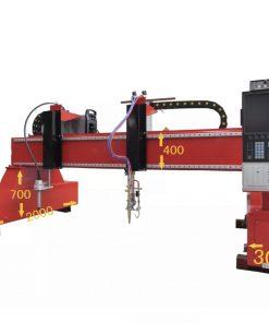 Flame plasma cutting machine st207