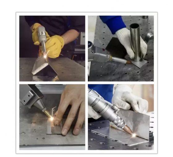 Hand-held laser welding machine st
